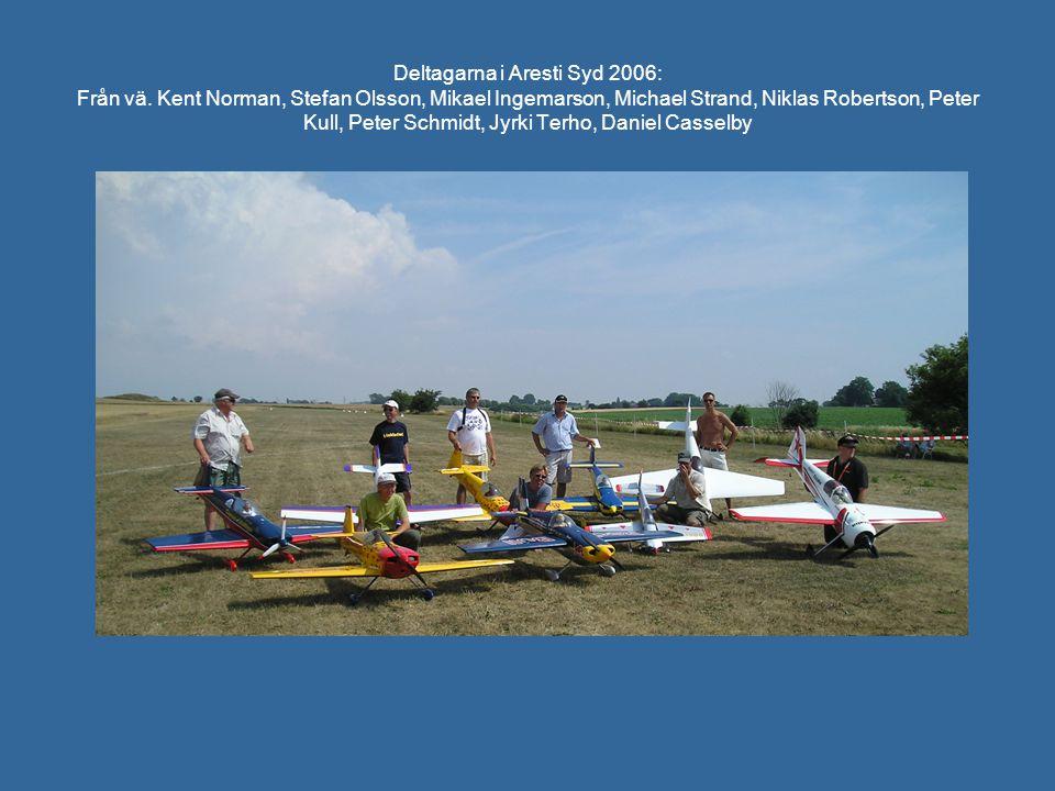 Deltagarna i Aresti Syd 2006: Från vä