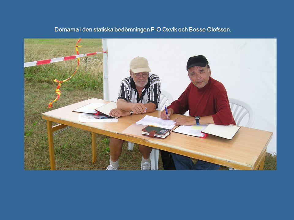 Domarna i den statiska bedömningen P-O Oxvik och Bosse Olofsson.