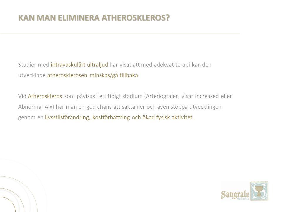 KAN MAN ELIMINERA ATHEROSKLEROS