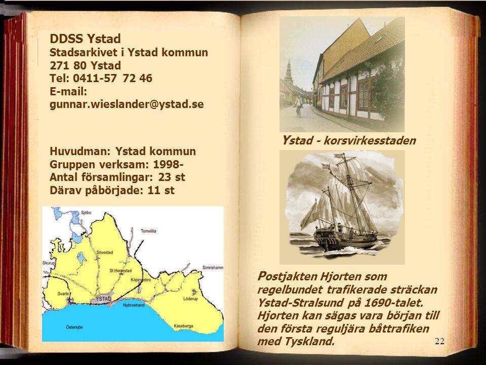 Ystad - korsvirkesstaden