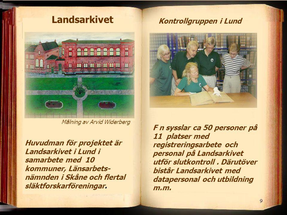 Kontrollgruppen i Lund