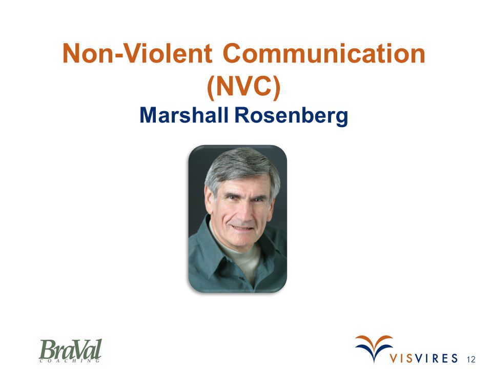 Non-Violent Communication (NVC) Marshall Rosenberg