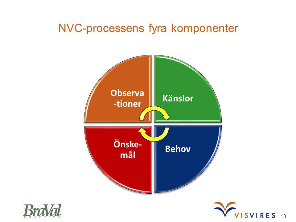 NVC-processens fyra komponenter