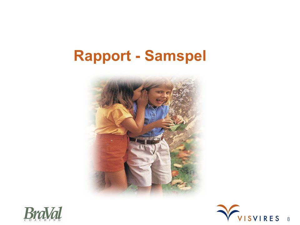 Rapport - Samspel Gunnars slide