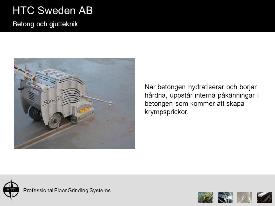 När betongen hydratiserar och börjar hårdna, uppstår interna påkänningar i betongen som kommer att skapa krympsprickor.