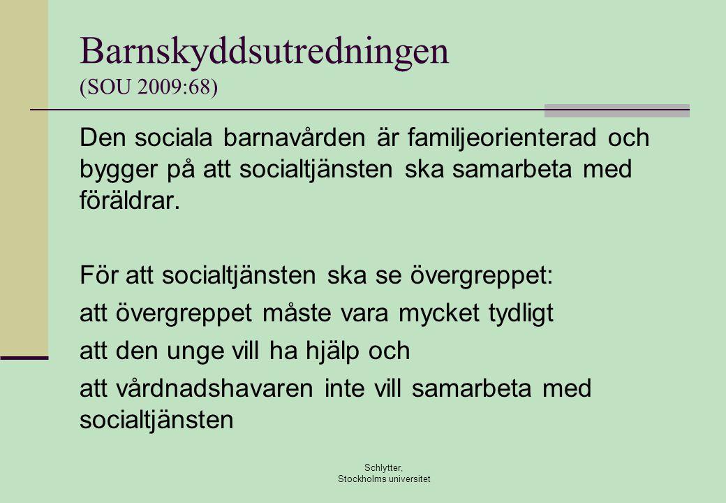 Barnskyddsutredningen (SOU 2009:68)