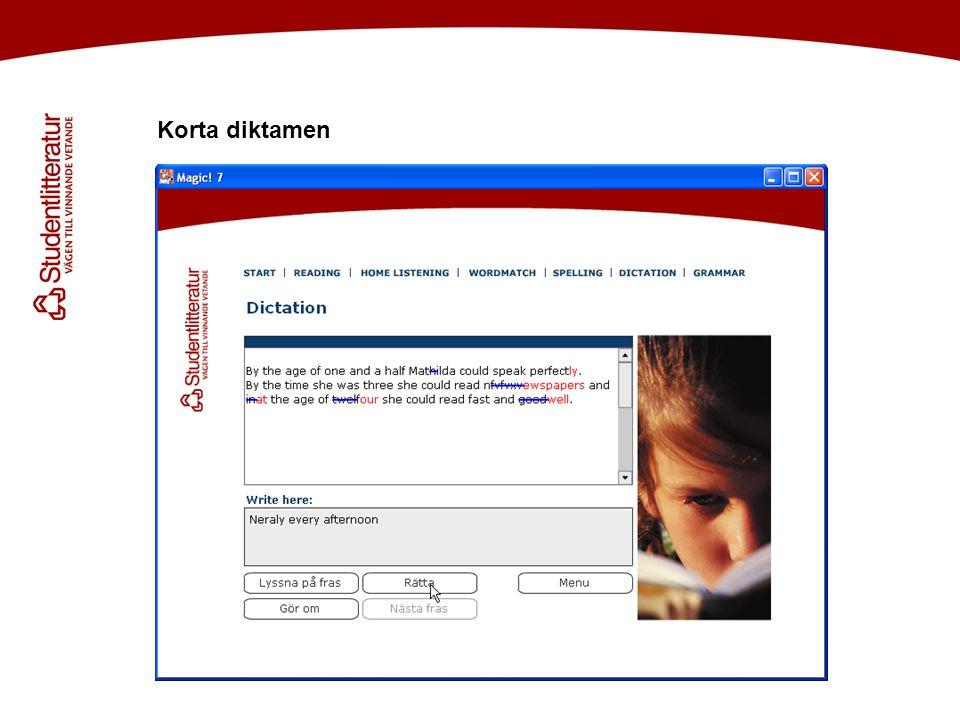 Korta diktamen Håkan! Efter inledningstexten skulle jag vilja visa bild på skivan (=labeln)