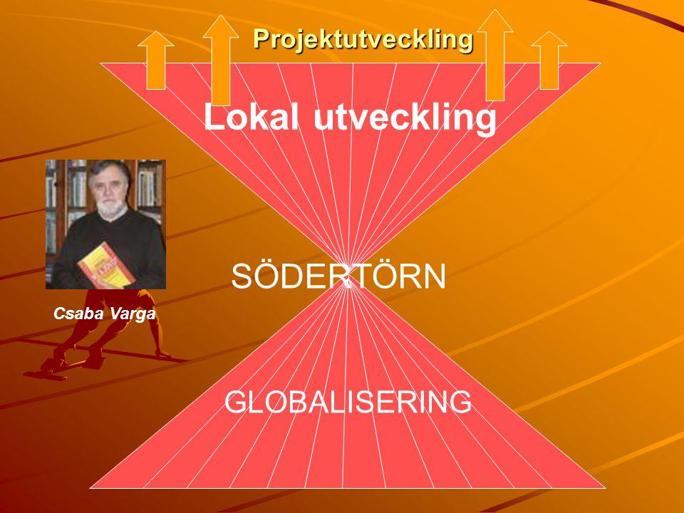 Projektutveckling Lokal utveckling SÖDERTÖRN GLOBALISERING Csaba Varga