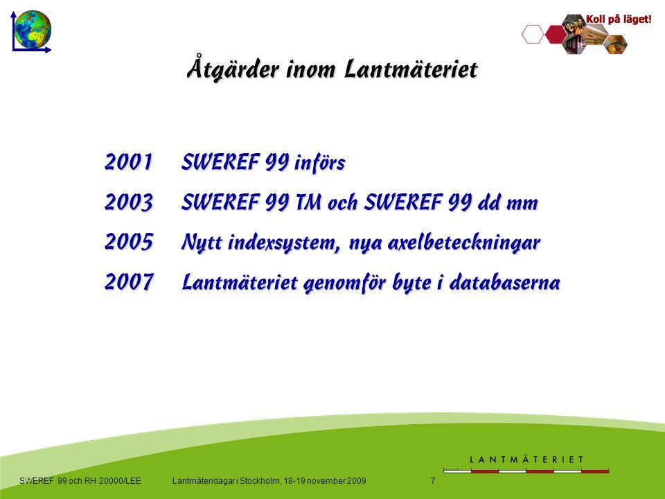 SWEREF 99 TM och SWEREF 99 dd mm