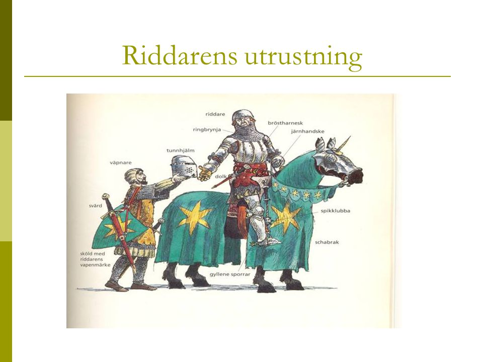 Riddarens utrustning