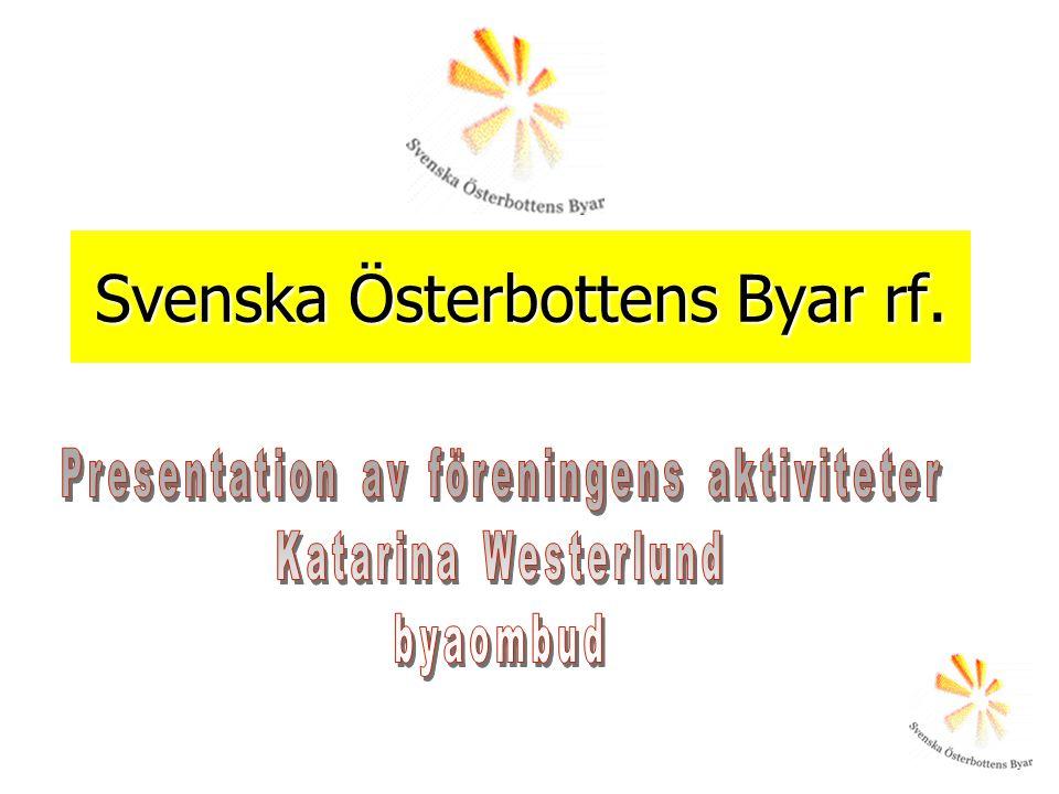 Svenska Österbottens Byar rf.