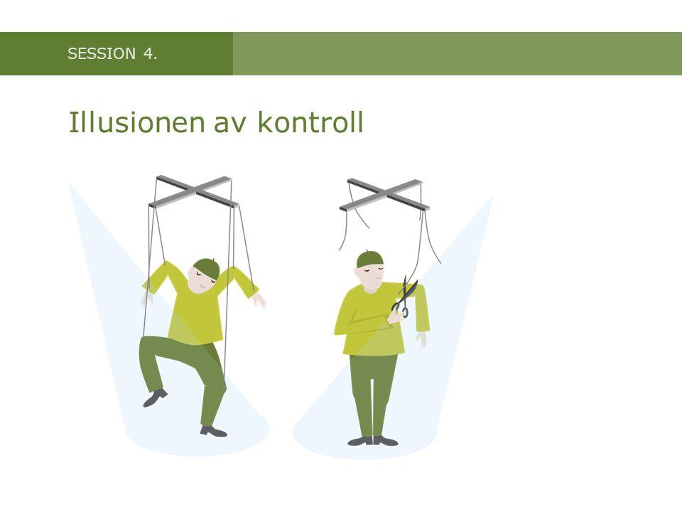 Illusionen av kontroll