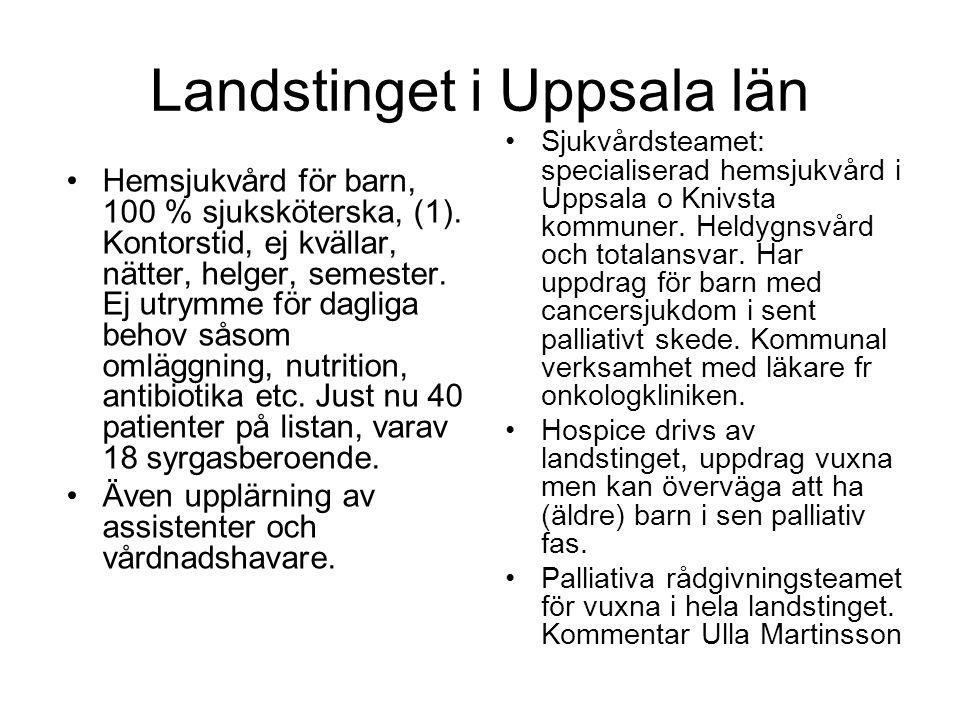 Landstinget i Uppsala län