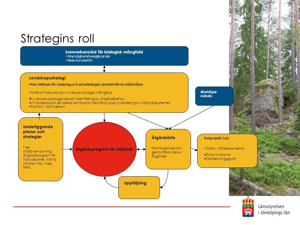 Samverkansråd för biologisk mångfald Åtgärdsprogram för miljömål