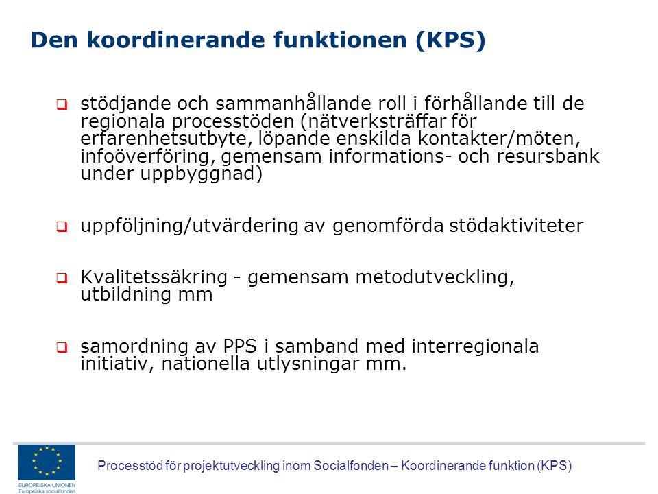 Den koordinerande funktionen (KPS)