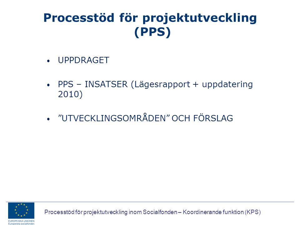 Processtöd för projektutveckling (PPS)