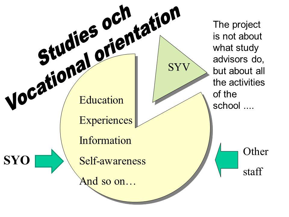 Vocational orientation