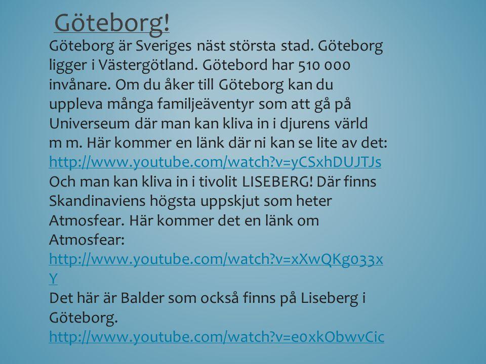 Göteborg!