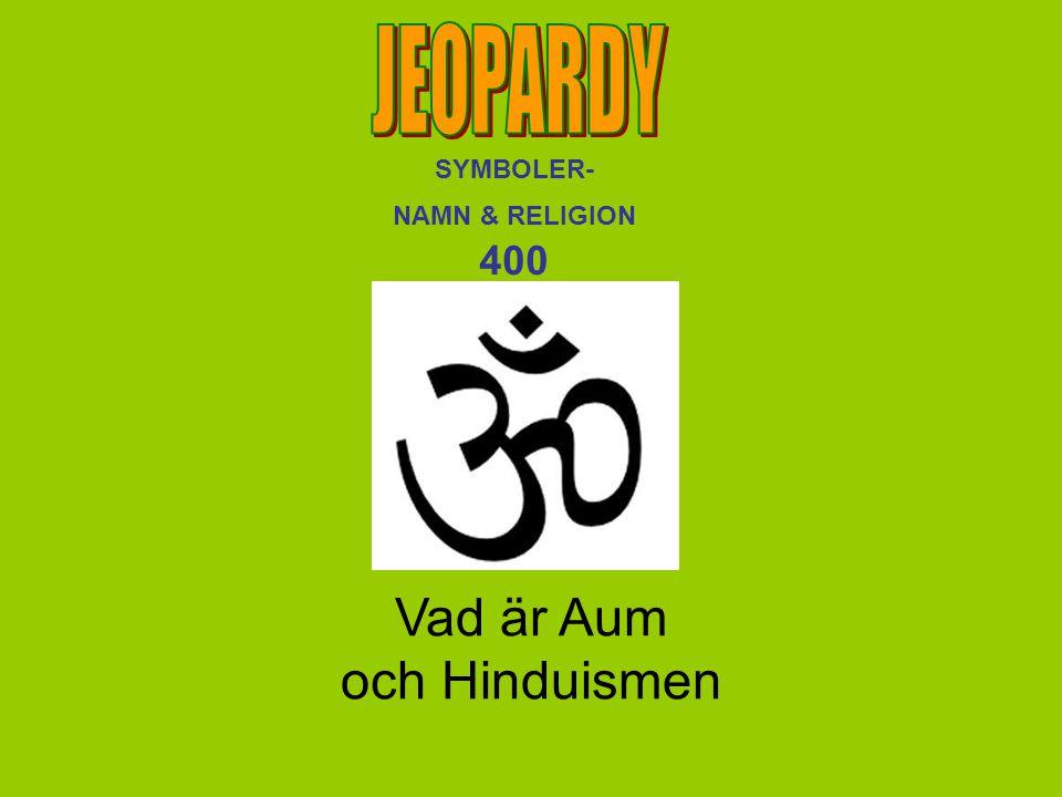 Vad är Aum och Hinduismen