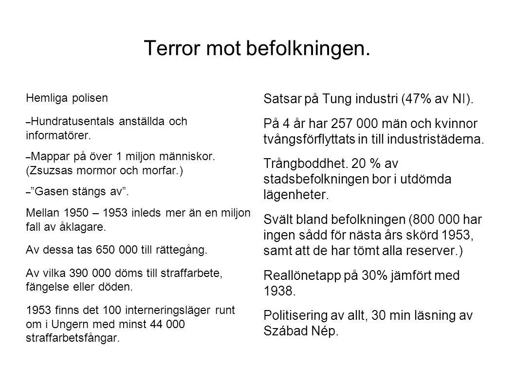 Terror mot befolkningen.