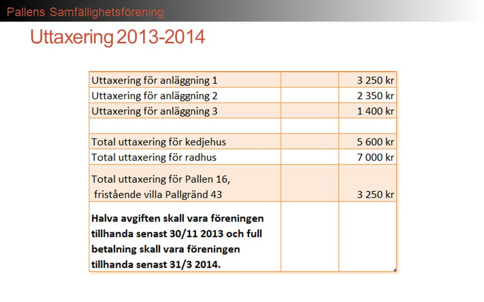 Uttaxering 2013-2014