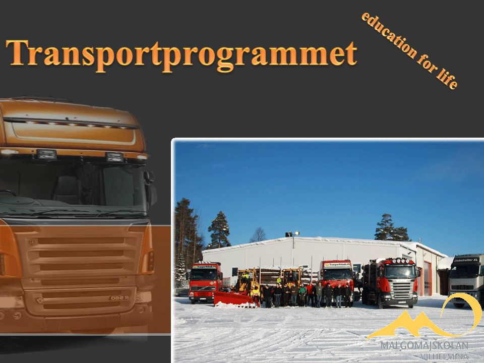 Transportprogrammet education for life