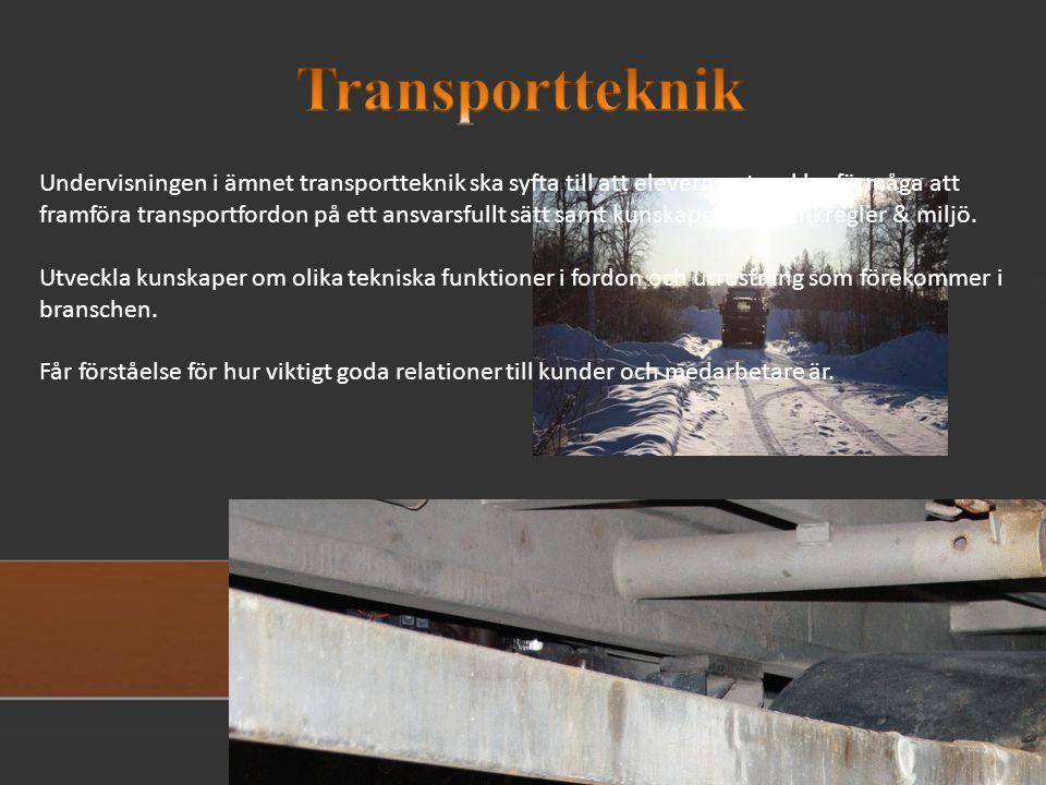 Transportteknik