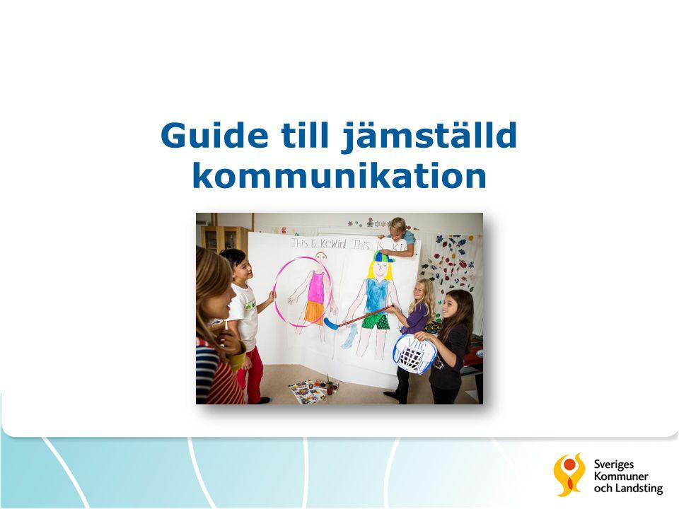 Guide till jämställd kommunikation