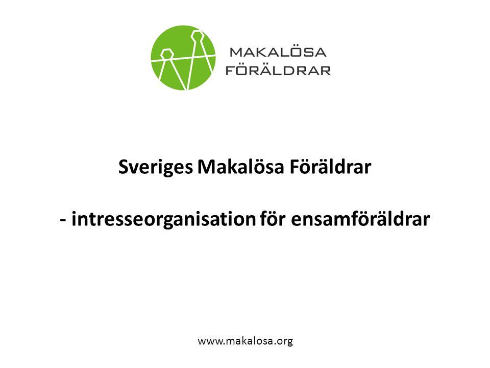 Sveriges Makalösa Föräldrar - intresseorganisation för ensamföräldrar