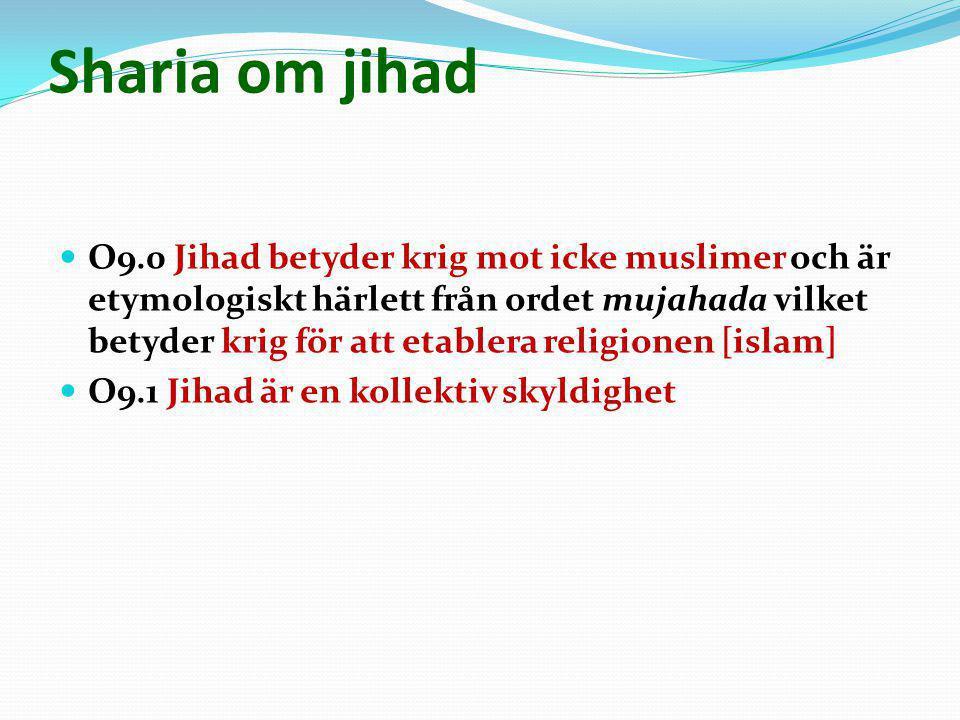Sharia om jihad