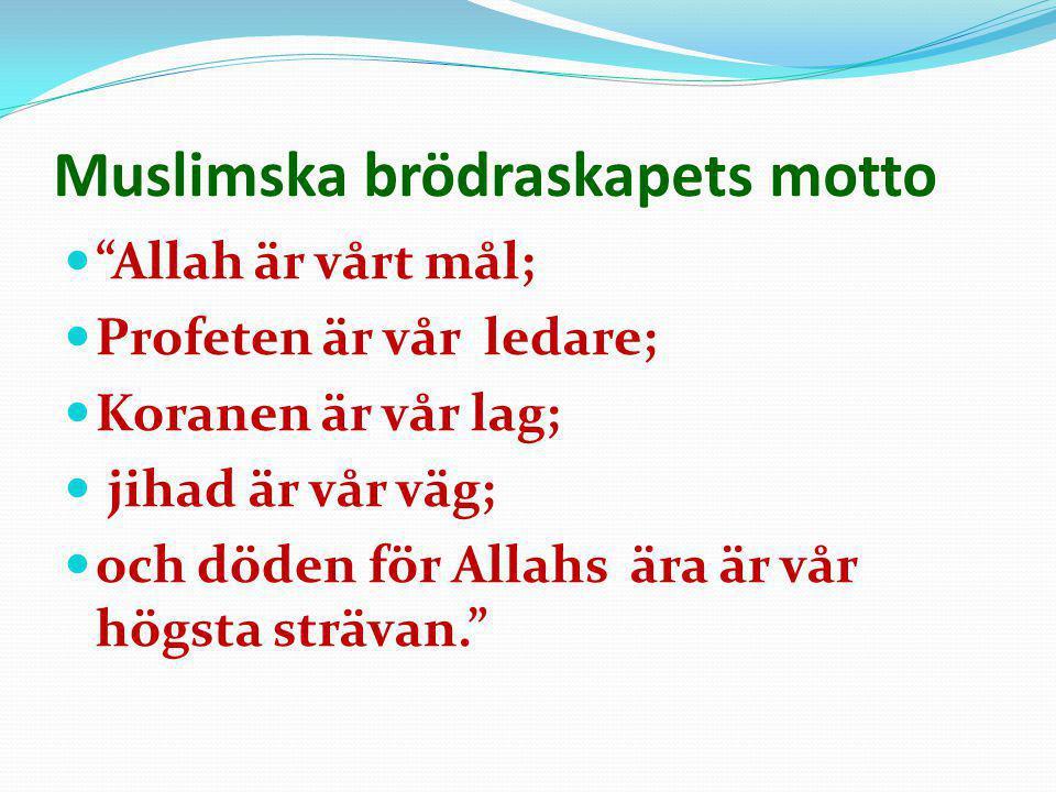 Muslimska brödraskapets motto