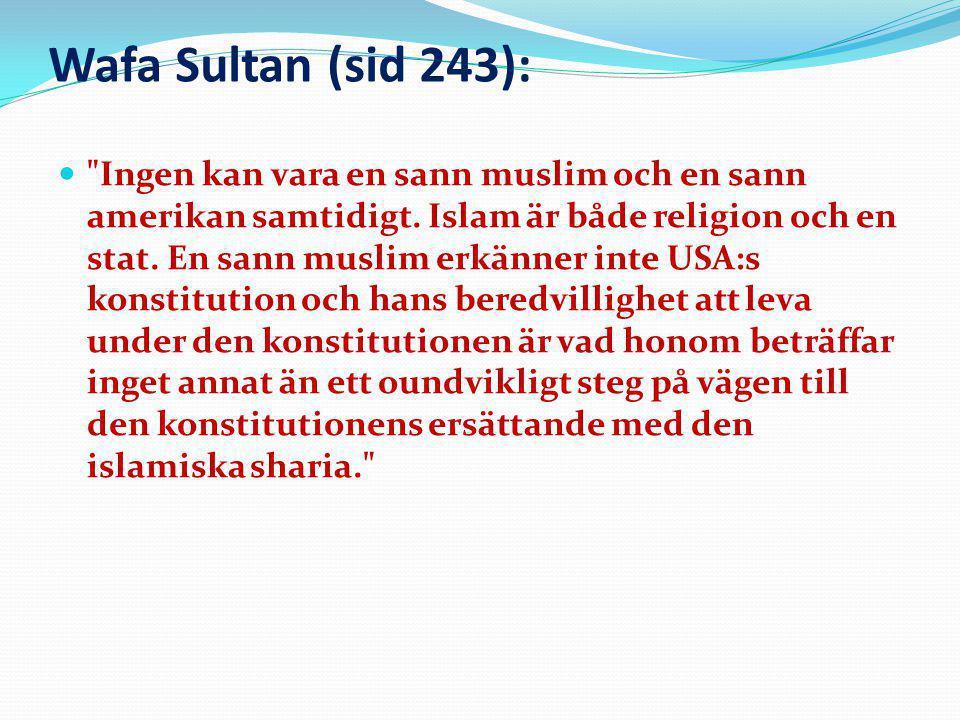 Wafa Sultan (sid 243):