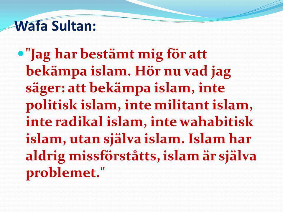 Wafa Sultan: