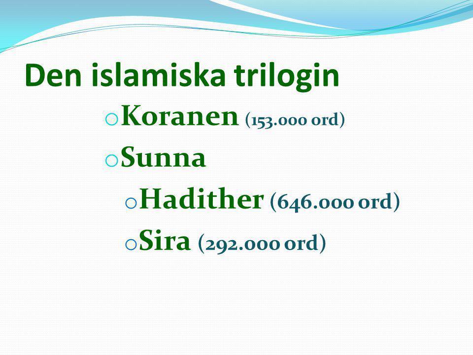 Den islamiska trilogin