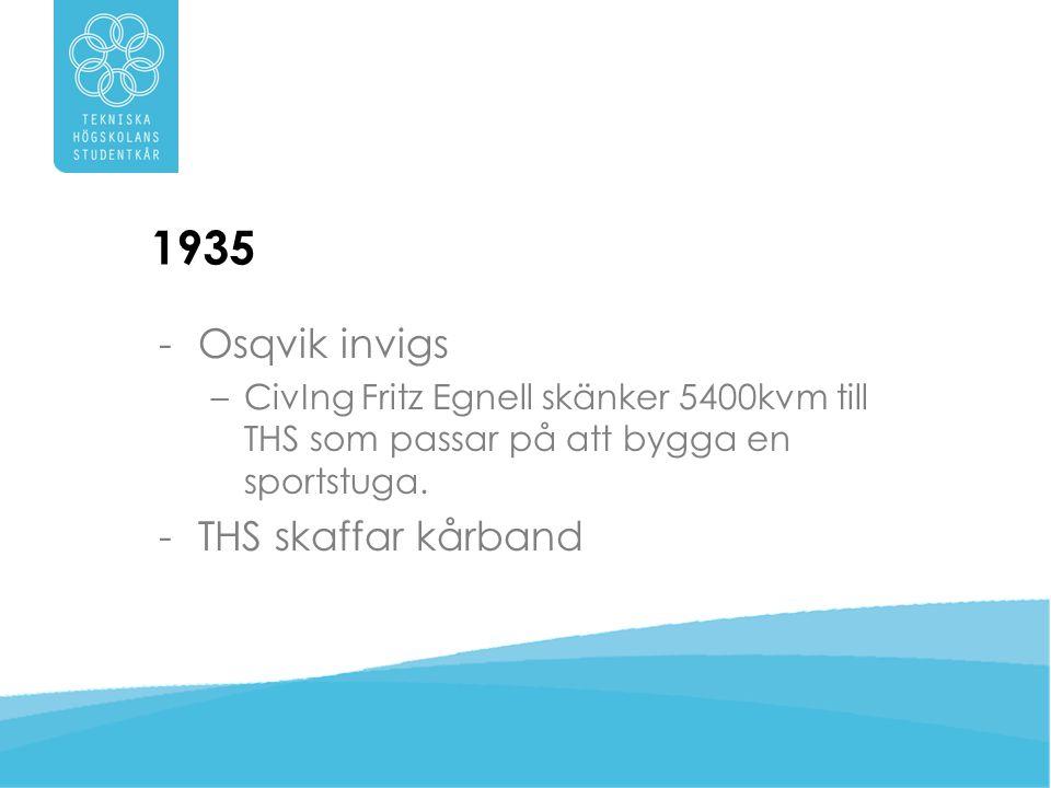1935 Osqvik invigs THS skaffar kårband
