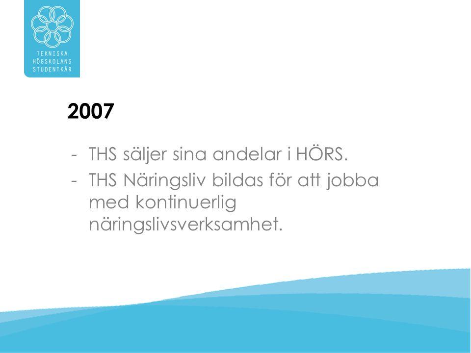 2007 THS säljer sina andelar i HÖRS.