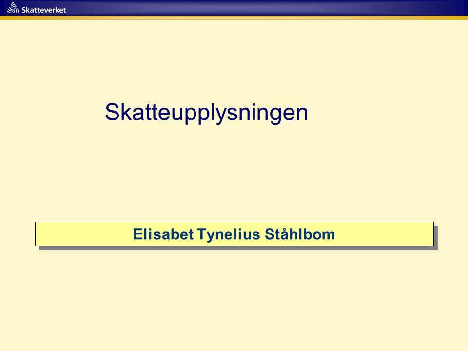 Elisabet Tynelius Ståhlbom