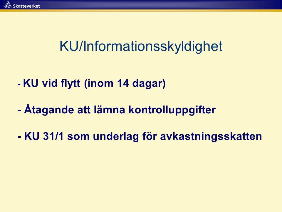 KU/Informationsskyldighet