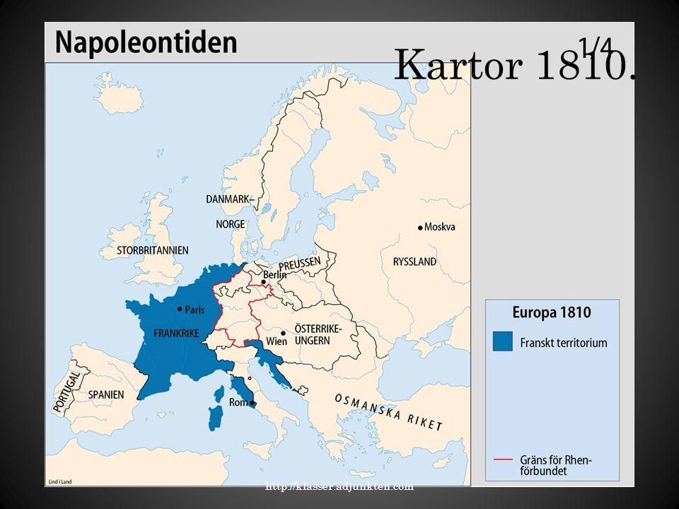 Kartor 1810. http://klasser.adjunkten.com