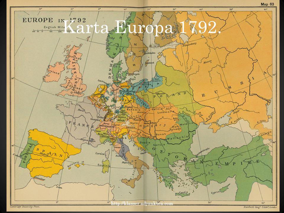 Karta Europa 1792. http://klasser.adjunkten.com