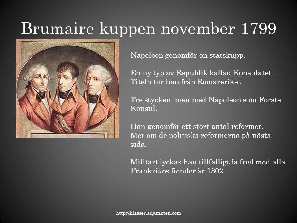 Brumaire kuppen november 1799
