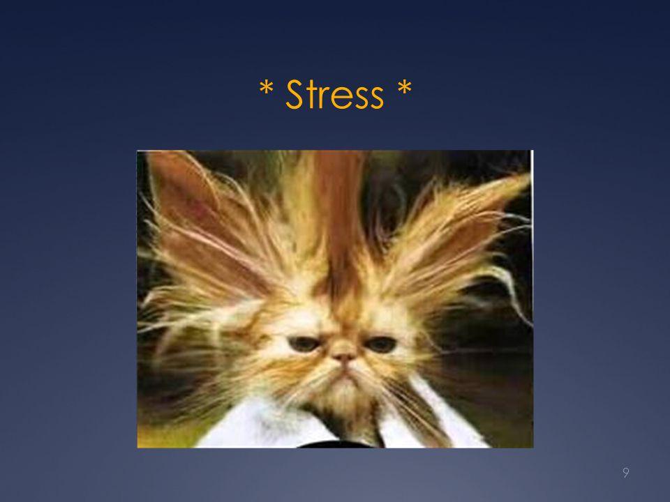 * Stress *