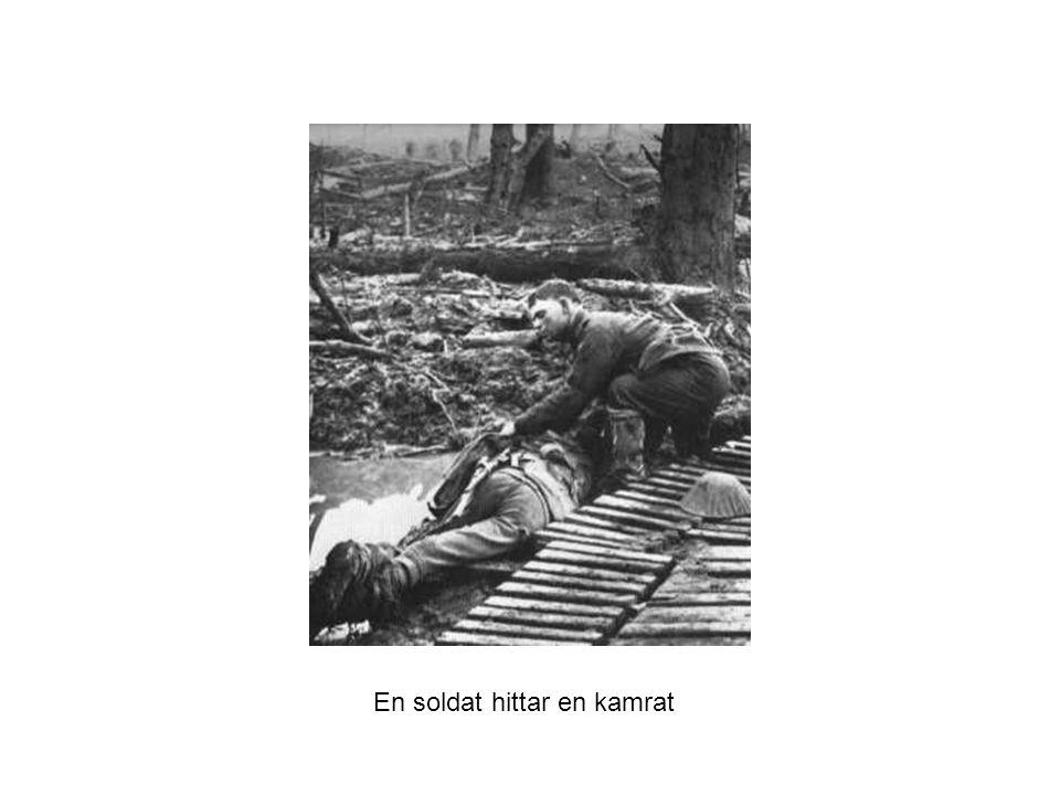 En soldat hittar en kamrat