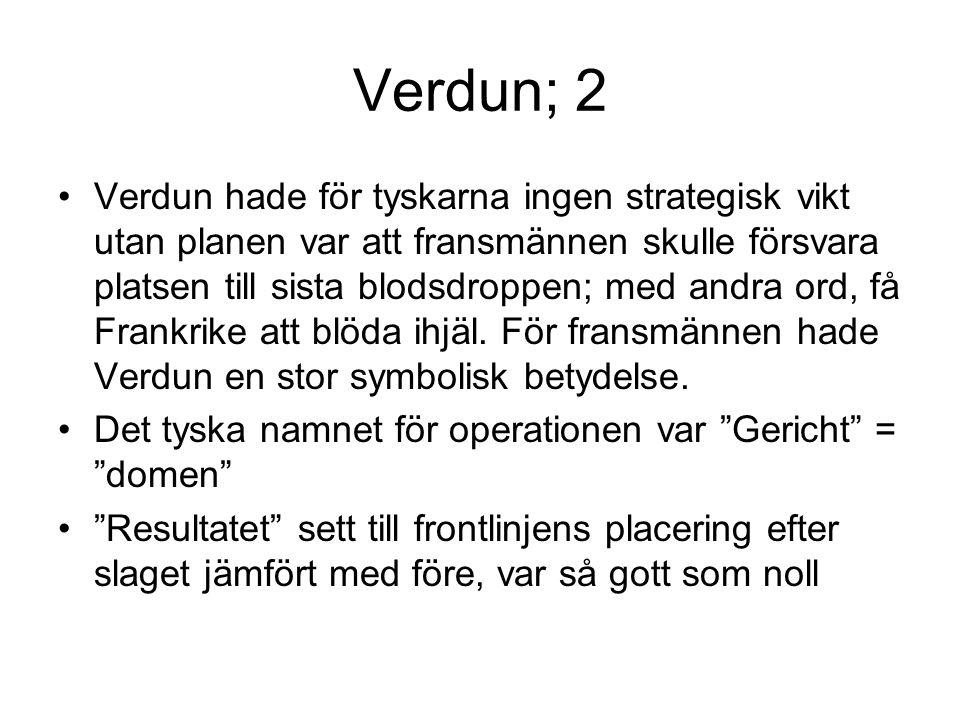 Verdun; 2