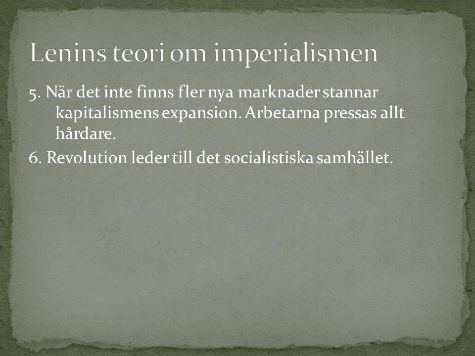 Lenins teori om imperialismen