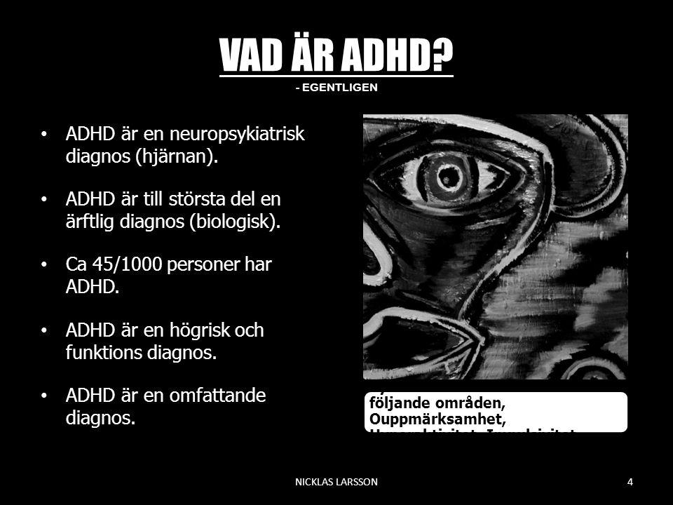 VAD ÄR ADHD - EGENTLIGEN