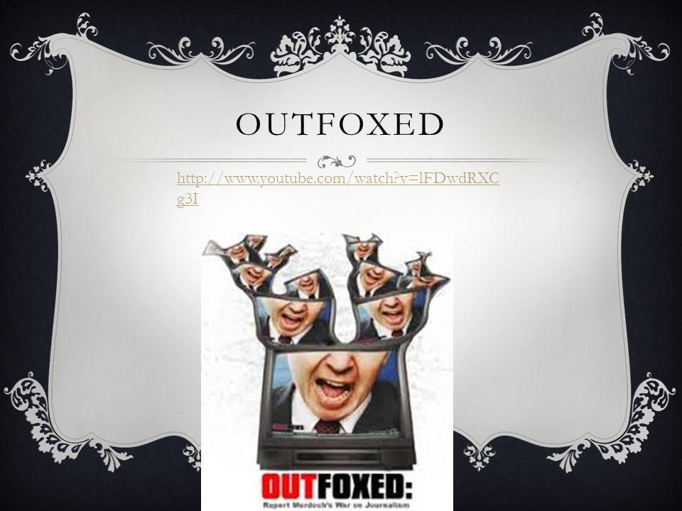 OUTFoxed http://www.youtube.com/watch v=lFDwdRXCg3I