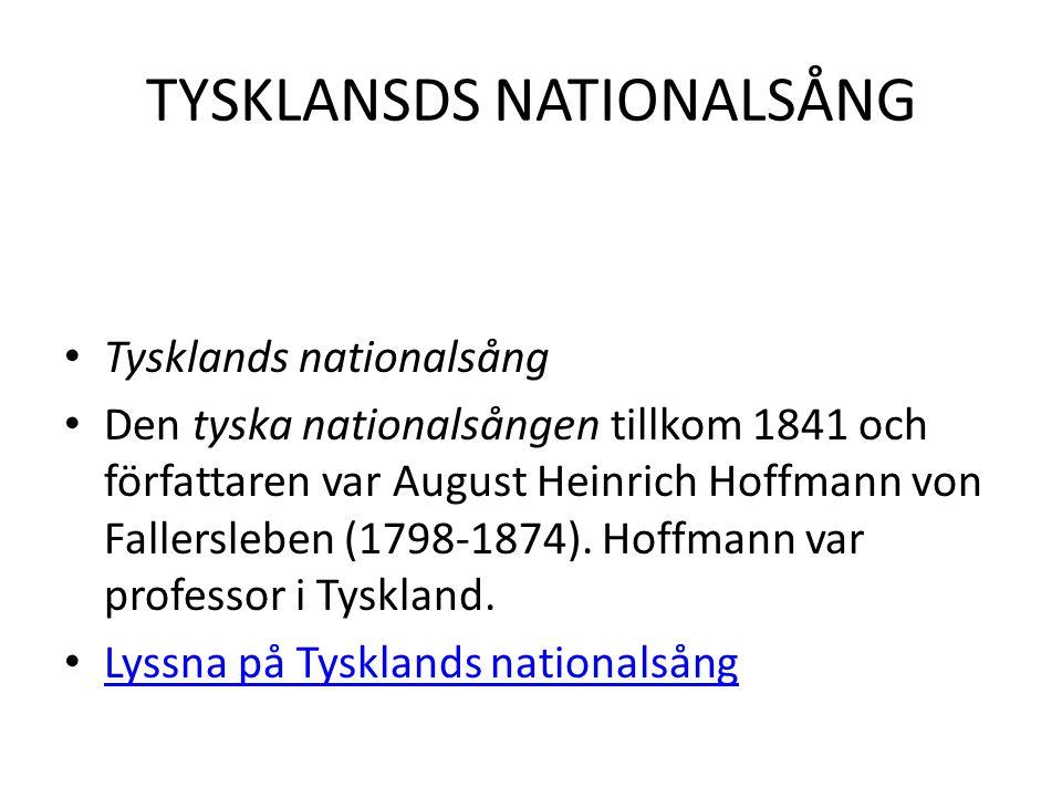 TYSKLANSDS NATIONALSÅNG