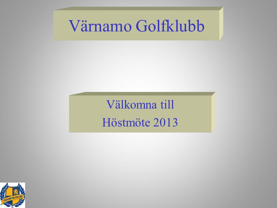 Välkomna till Höstmöte 2013
