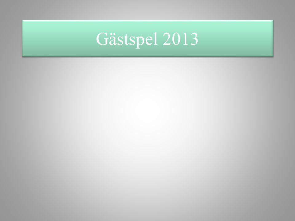 Gästspel 2013